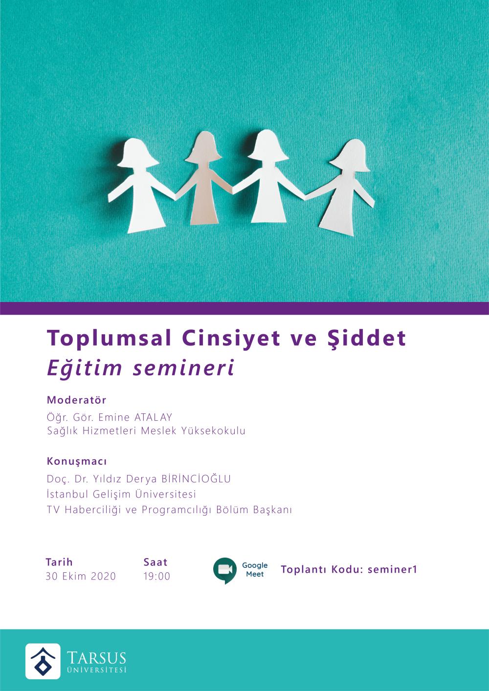 Toplumsal Cinsiyet ve Şiddet Eğitim Semineri