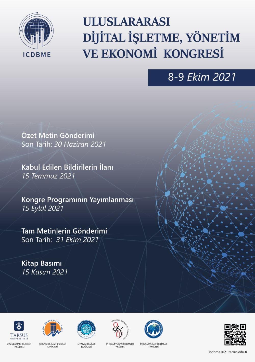 Uluslararası Dijital İşletme, Yönetim ve Ekonomi Kongresi