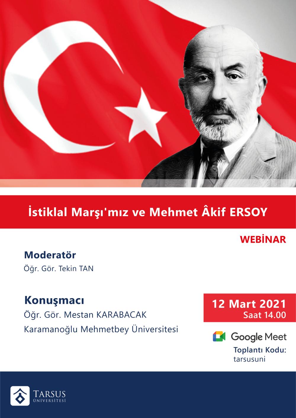 """""""İstiklal Marşı""""mız ve Mehmet Akif Ersoy"""